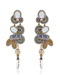 Dori Csengeri | White Chiara Earrings | Lyst