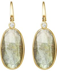 Astley Clarke | Metallic Cassini Labradorite Drop Earrings | Lyst