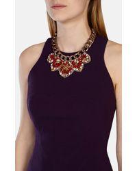 Karen Millen | Red Statement Necklace | Lyst