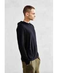 Jungmaven - Black Light Hooded Top for Men - Lyst