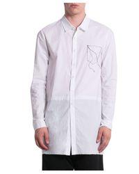 Damir Doma - White Cotton Shirt for Men - Lyst