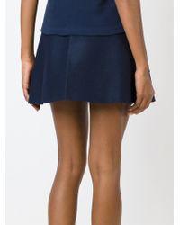 Jacquemus - Blue A-Line Skirt - Lyst