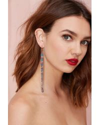 Nasty Gal | Metallic Make It Rainbow Earrings | Lyst