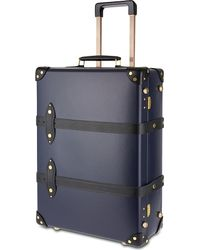 """Globe-Trotter - Blue Moneypenny 21"""" Two-wheeled Trolley Suitcase for Men - Lyst"""