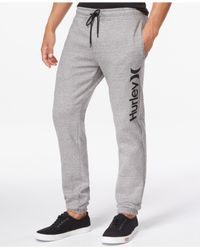 Hurley | Gray Getaway Pants for Men | Lyst