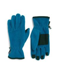 Patagonia - Blue Synchilla Fleece Gloves for Men - Lyst