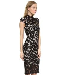 Lover - Warrior Lace Midi Dress - Black - Lyst