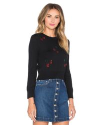 Marc By Marc Jacobs - Black Embroidered Fruits Sweater - Lyst