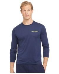 Polo Ralph Lauren | Blue Polo Sport Performance Jersey T-shirt for Men | Lyst