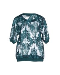 Jucca - Green Blouse - Lyst