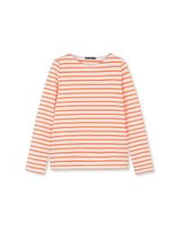Petit Bateau | Orange Women's Sailor Shirt | Lyst
