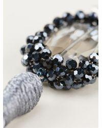 Night Market | Gray Tassel Earring | Lyst