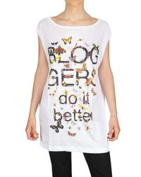 LUISA VIA ROMA - White Firenze4ever 3rd Edition T-shirt - Lyst