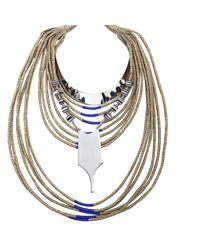 En Inde - Multicolor Broken 15 Necklace - Lyst