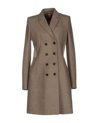 Givenchy - Gray Coat - Lyst