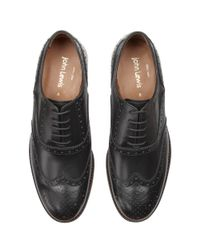 John Lewis - Black Bentley Storm Leather Brogue Shoes for Men - Lyst