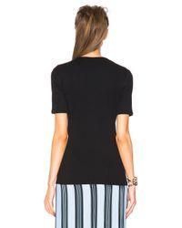 Acne Studios - Black Calypsa Rib Shirt - Lyst