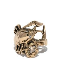 Pamela Love | Metallic Gold Scorpion Ring | Lyst