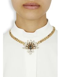 Anton Heunis | Metallic Gold Plated Cluster Necklace | Lyst