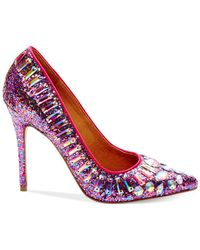 Steve Madden - Multicolor Galaxxie Glitter Pumps - Lyst