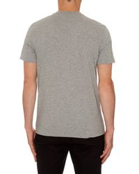 Givenchy - Gray Cuban-fit Rottweiler Cotton T-shirt for Men - Lyst