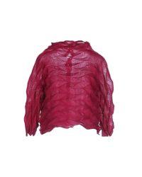Issey Miyake Cauliflower | Red Shirt | Lyst