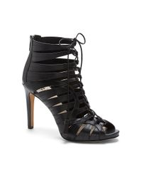 Vince Camuto - Black Narrital - Strappy Lace Up Gladiator Heel - Lyst