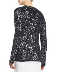 Marc Jacobs - Metallic Allover-sequined Cardigan Sweater - Lyst