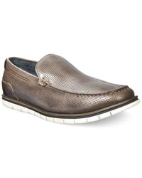Kenneth Cole Reaction | Gray Bay-side Boat Shoes for Men | Lyst