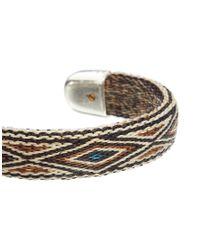 Chamula | Black Bendable Bracelet for Men | Lyst