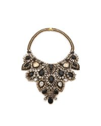 Aerin Erickson Beamon - Black Statement Bib Necklace - Lyst