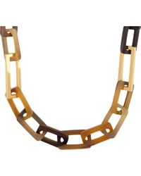 Maiyet - Brown Horn Necklace - Lyst