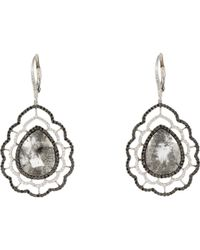 Sharon Khazzam | Metallic Nastasia Drop Earrings | Lyst