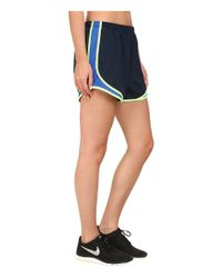Nike | Blue Tempo Short | Lyst