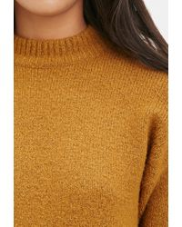 Forever 21 | Orange Longline Wool-blend Sweater | Lyst