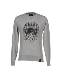 Replay | Gray Sweatshirt for Men | Lyst