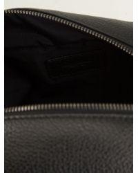 Dolce & Gabbana - Black Leather Wash Bag for Men - Lyst
