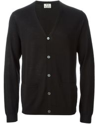 Acne Studios | Black 'Clissold' Cardigan for Men | Lyst