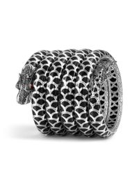 John Hardy - Black Legends Naga Multi-row Bracelet - Lyst