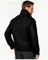 London Fog | Black Big And Tall Bib Hipster Jacket for Men | Lyst