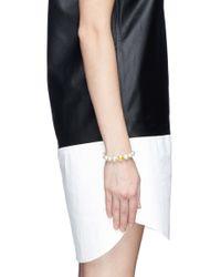 Venessa Arizaga - White 'going Bananas' Bracelet - Lyst