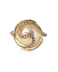 Lulu Frost | Metallic Oleander Ring | Lyst