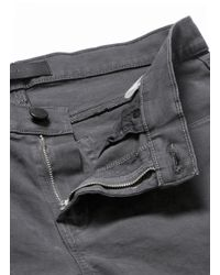 J Brand | Gray 'tyler' Micro Twill Chinos for Men | Lyst
