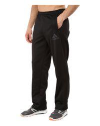 Adidas | Black Team Issue Fleece 3-stripes Pants for Men | Lyst