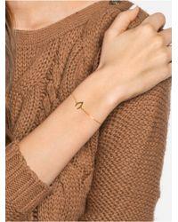 BaubleBar | Metallic Wishbone Bracelet | Lyst