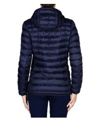 Napapijri - Blue Short Jacket - Lyst