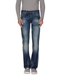 True Religion | Blue Denim Trousers for Men | Lyst