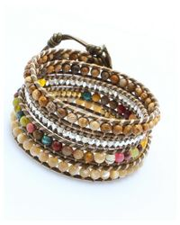 Nakamol | Multicolor Beaded Agate | Lyst