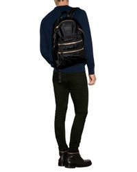 Burberry Brit - Blue Cotton Jersey Embroidered Logo Sweatshirt for Men - Lyst