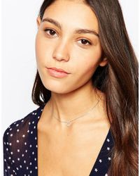 Astrid & Miyu | Metallic Necklace | Lyst